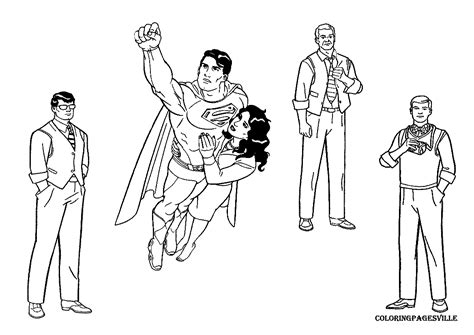 Man Of Steel General Zod Coloring Pages Coloring Pages