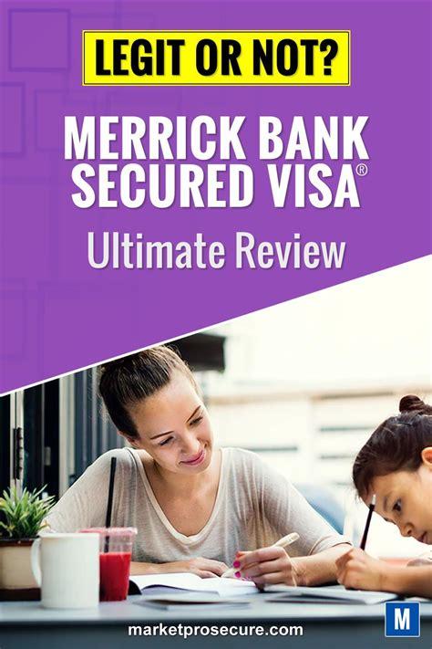 The credit karma offer was the best! Merrick Bank Secured Visa® credit card in 2020   Secure credit card, Visa credit card, Secured card