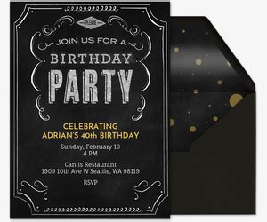 birthday party invitations   evite