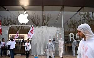 Apple Store Bayonne : attac s en prend un apple store et une soci t g n rale pour d noncer l vasion fiscale sud ~ Gottalentnigeria.com Avis de Voitures