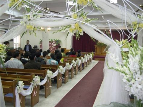 simple church wedding decorations wedding ideas