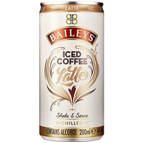 337,074 likes · 71 talking about this. Baileys Iced Coffee - Latte 200ml   Alcohol - B&M Stores
