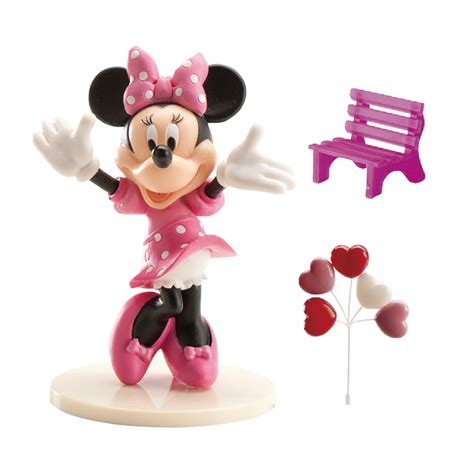 d 233 corations minnie pour g 226 teau en kit pvc