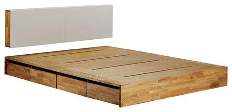 mash lax platform solid wood storage bed modern platform beds by plush pod decor
