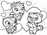 Leapfrog Coloring Pages Characters Geeky Hicks Sera sketch template