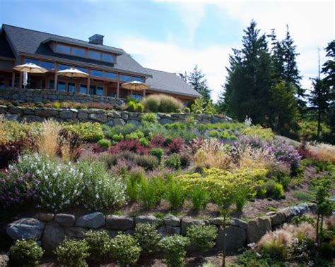 landscape design hillside hillside garden houzz