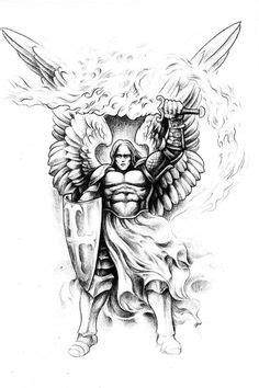 Jesse Santos - Book of angels | 43 photos | VK | Tatuagem de anjo guerreiro, Anjo guerreiro