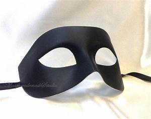 Black White Masquerade Mask for Men - from ...