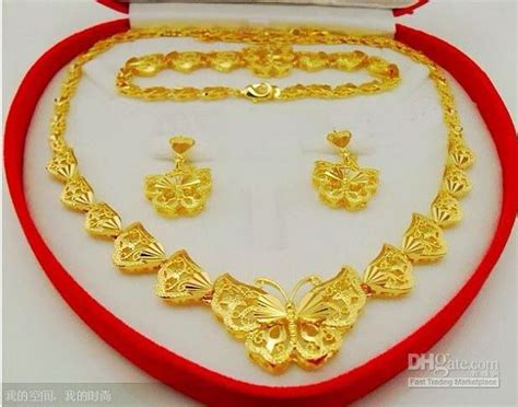 Singapore Necklace /earrings/bracelet 916 Pure Gold