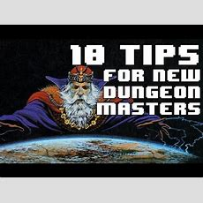 10 Tips For Beginner Dungeon Masters Youtube