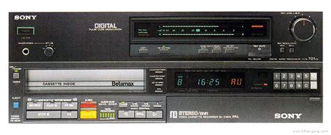 sony pcm es manual digital audio processor hifi
