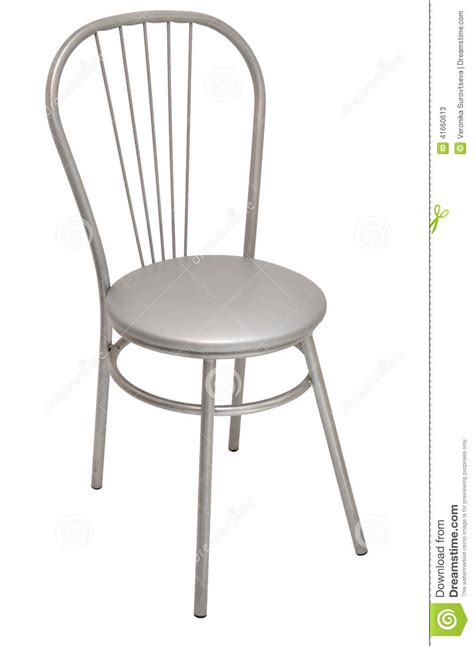 silver chair stock photo image 41660613