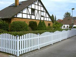 Gartenzaun Weiß Holz : staketen zaunfelder verschraubt ab 22 99eur premium ~ Michelbontemps.com Haus und Dekorationen