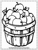 Coloring Apple Fruit Pages Printable Preschoolers Drawing Getdrawings sketch template