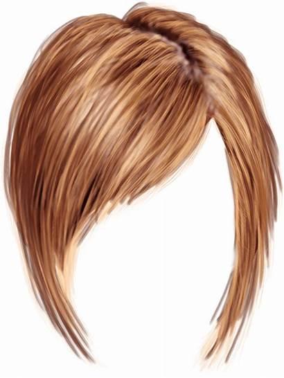 Transparent Hair Short Haircut Clipart Hairstyle Woman