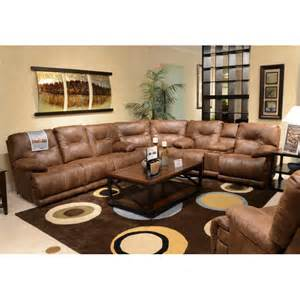 voyager power reclining sectional sofa by catnapper