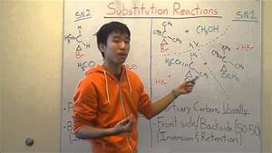 sn2 and sn1 reactions made easy part 2 products