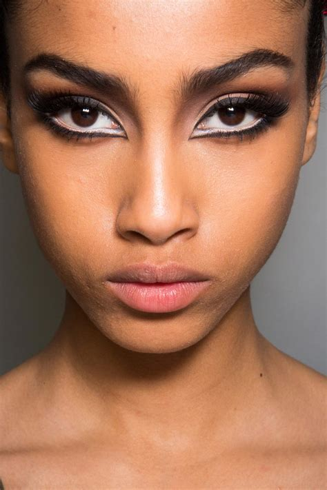 runway beauty feline eyes  jean paul gaultier fall