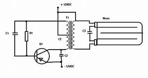 Rangkaian Lampu Tl Dengan Baterai 12v