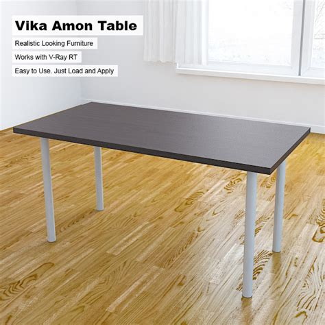 vika amon table by arquitectostyles 3docean