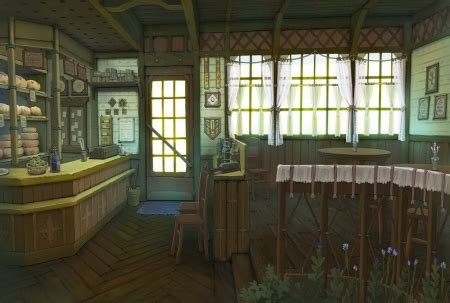bakery shop  anime background wallpapers