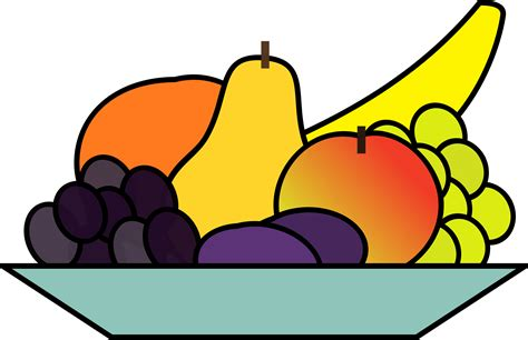 clipart cuisine food clipart fruit pencil and in color food clipart fruit
