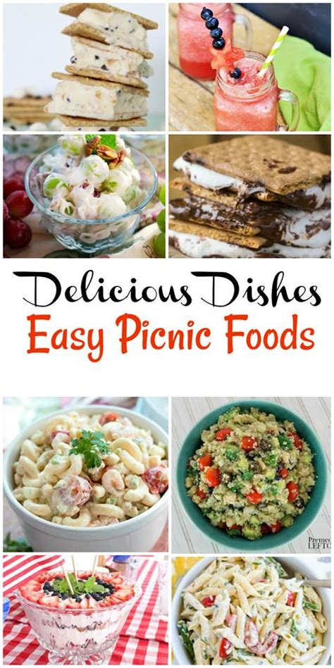 easy picnic food easy picnic recipes delicious dishes recipe party 73 clever housewife