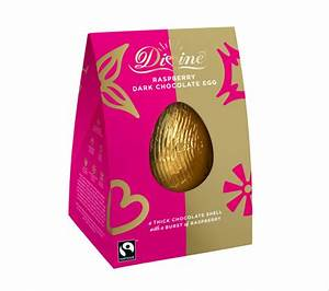Vegan Easter eggs made from milk chocolate and filled with ...