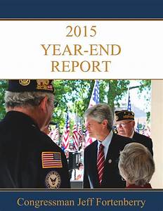 Congressman Fortenberry's 2015 Year End Report by ...