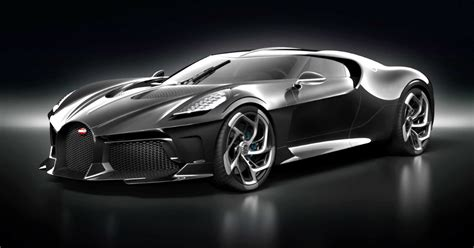 New Car by Bugatti Unveils The Most Expensive New Car Built