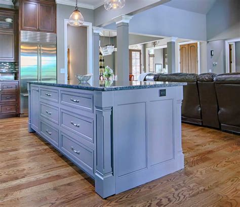 classic stained cabinets transitional cabinets walker