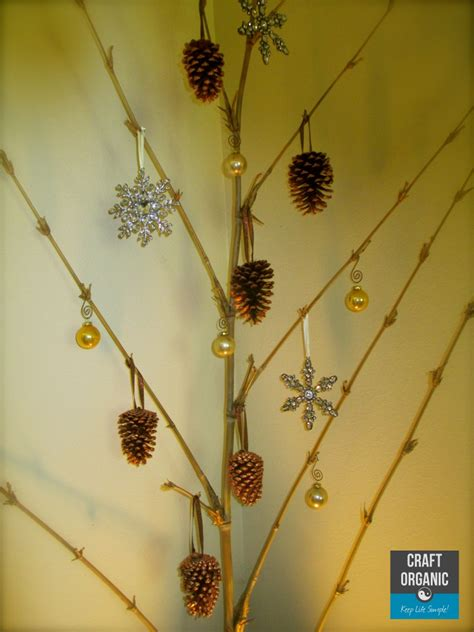 bamboo christmas tree craft organic