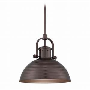 Lighting bronze finish : Pendant light in harvard court bronze finish