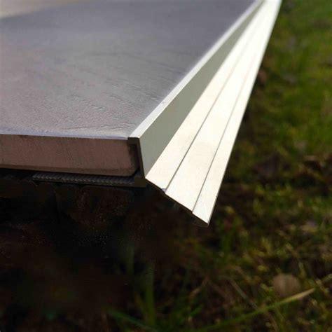 profile alu pour carrelage profile pour balcon et terrasse goutte d eau www profils alu