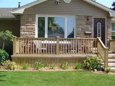 Front Porch Deck by Front Deck Front Porch Deck For