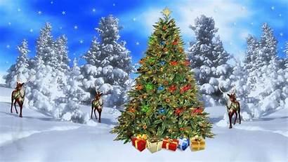 Christmas Merry Tree Everyone Wish Clean Dream