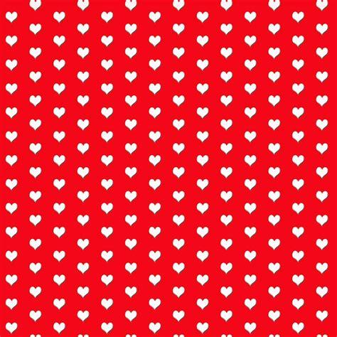 corazoncitos blancos sobre rojo decoraletrascom