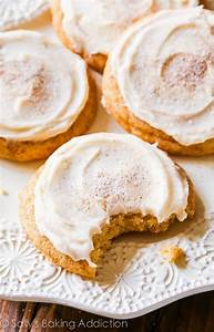 Frosted Chai Spice Snickerdoodles. - Sallys Baking Addiction
