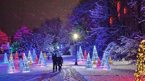 winter festival  lights  niagara falls layman