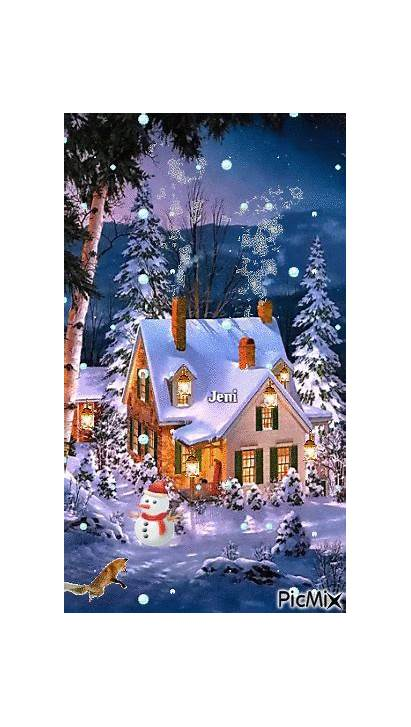 Winter Night Picmix
