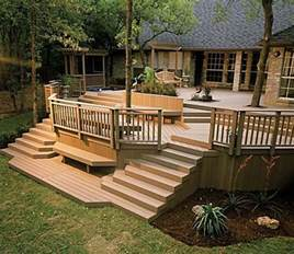 wooden deck pictures