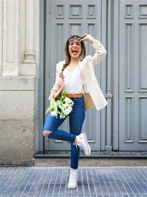 Tendencias de moda Zapatillas blancas [FOTOS] (Foto)   Ella Hoy