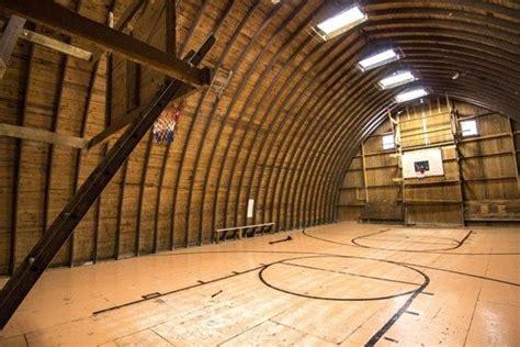 barn basketball  full basketball court   upper loft