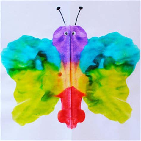 40 butterflies for to make allfreekidscrafts 290 | mirrored bright butterflies