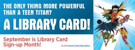 September Is Library Card Signup Month!  Penguin Random