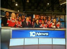 Westerville South Cheerleaders Perform on WBNS 10TV