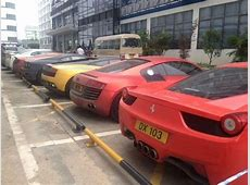 Hong Kong Police Seizes Luxury Car Collection after