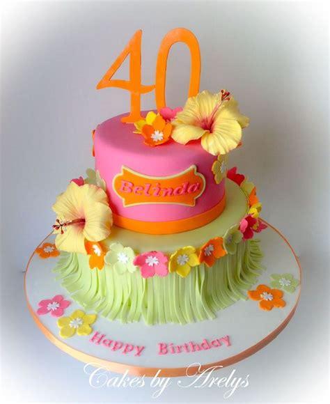 25+ Best Ideas About Hawaiian Theme Cakes On Pinterest