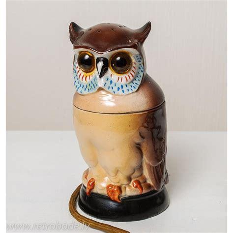 Porcelāna lampa, Pūce, Vācija 20 gs. sākums