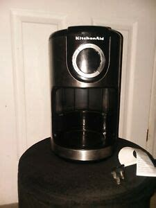 Choose from contactless same day delivery, drive up and more. KitchenAid 12 Cup Glass Carafe Onyx Black Coffee Maker, used, everything works 883049216256 | eBay